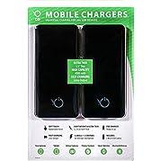 Concept Green Slim 4000mAh Portable Power Bank, 2 Pk.