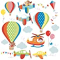 High Flying Decorative Peel & Stick Wall Art Sticker Decals