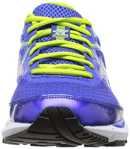 Mizuno Wave Ultima 6 - Zapatillas de running para hombre Dazzling Blue/Silver/Lime Punch