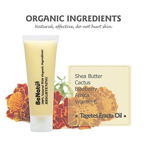 Benatu Yellow Clay - 100% Organic + Silicone Face 75g