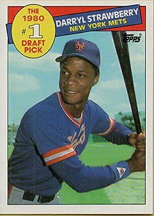 Darryl Strawberry 1985 Topps Baseball Card 278 New York