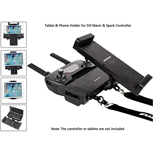Joint Vcitory Foldable Bracket Extender 4.7-12.9 Inches Tablet Stander Mobile Phone Stand Holder with Lanyard for DJI Mavic and DJI Spark Remote Controller