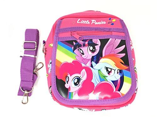 My Little Pony Wallet-Passport Bag- String Sling Tote Bag Backpack (PONY AND FRIEND SHOULDER BAG) (My Little Pony Blind Bag Wave 19)