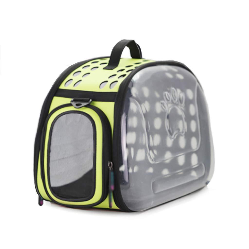 D Pet bag Cat bag Dog bag Pet backpack Pet outing bag Carrying case handbag Travel bag Breathable Lightweight convenient (color   D)