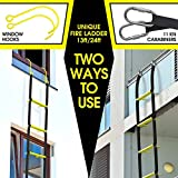 ISOP Fire Rescue Ladder 13ft   Retractable Ladders