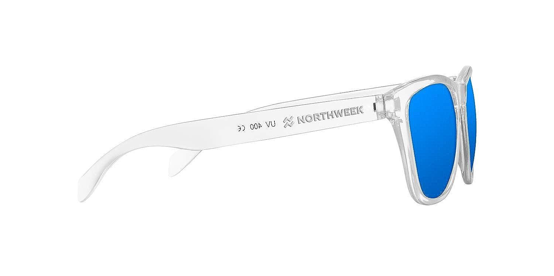 NORTHWEEK Kids Seabright Gafas de Sol, Ice Blue, 140 Unisex-niños
