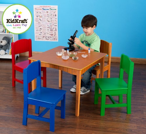 4 Chair Set Kidkraft Furniture - 8