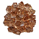 simuer Acrylic Ice Rock Cubes Jewels Gems, Faux Diamond Crystals Treasure Gems Fake Crushed Ice Rocks for Tables Decorations, Vase Fillers,Fishbowl Beads Wedding or Birthday Gift