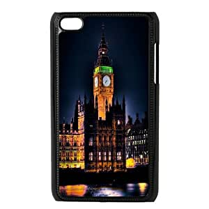 [MEIYING DIY CASE] FOR IPod Touch 4th -Big Ben At London Pattern-IKAI0447359
