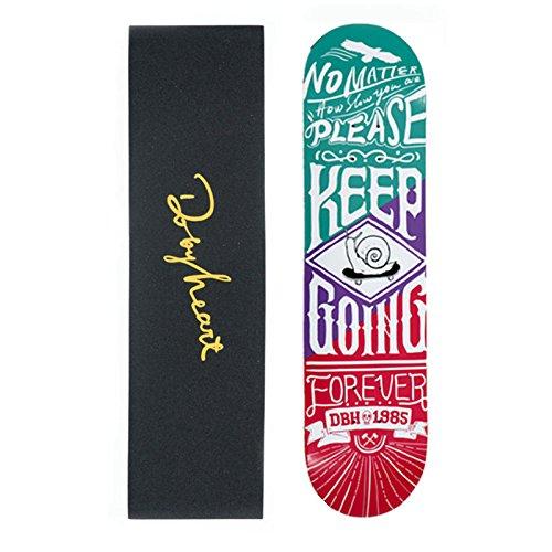 GAOY Skateboard Skateboards Deck Débutants Double Kick Planches à Roulettes En érable Mini Cruiser PU Roues Pour Adult Kids Débutants Longue Planche,F