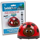 Leak Bug Electronic Water Alarm- Detects as little as 1/32″ of Water- Leak Detector Beeps When Battery is Low