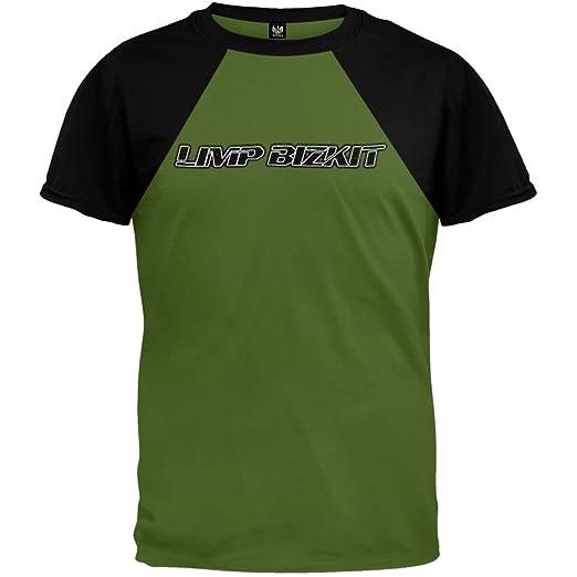 48cd85a74 Amazon.com  Old Glory Limp Bizkit - Mens Reflective Baseball Tee - X ...