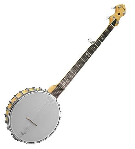 Amazon com: Gold Tone 5-String Lefty Open Back Banjo w/ Gig
