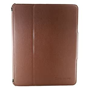 SmartSeries Brown Faux Leather Apple iPad Folio