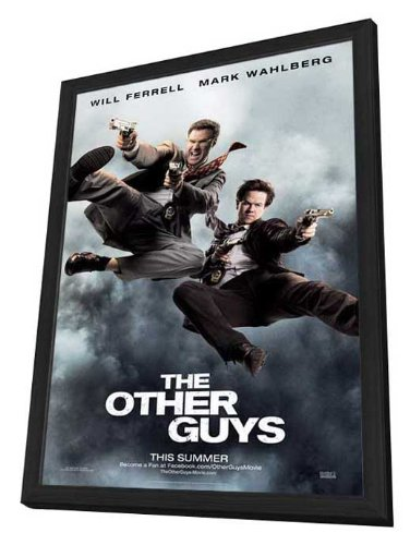 The Other Guys - 27 x 40 Framed Movie Poster by Movie Posters