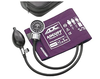 ADC Diagnostix bolsillo aneroide Tensiómetro, Adulto, color morado
