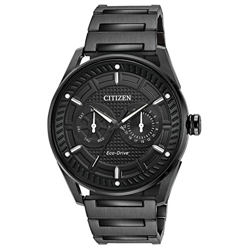 Citizen Eco Drive Mens Plated Watch
