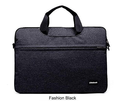 Yoku® Ultrabook Series Universal 13 inch Laptop Sleeve Bag Case Carrying Handbag Briefcase for Apple Macbook 13 Inch, (Fit all 12-13 inch ultrabook laptop) (Black) (Vaio Bag)
