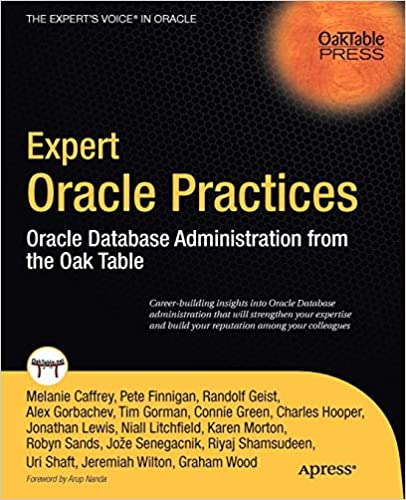 Expert Oracle Practices: Oracle Database Administration from