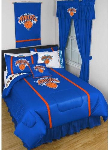 NBA New York Knicks King Comforter Set Basketball Logo Bed by NBA
