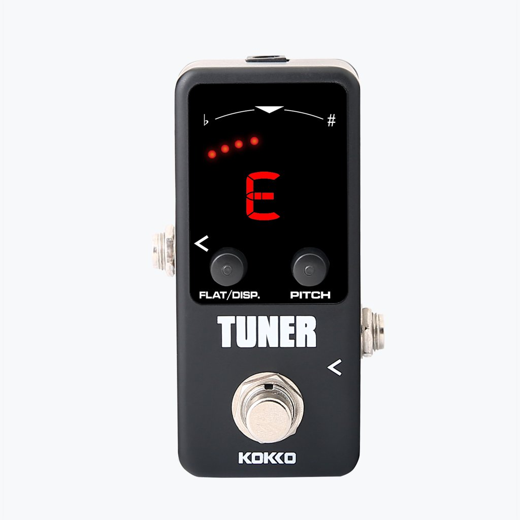 Flanger FTN2 Mini Pedal Tuner LED Screen Guitar Effect Pedals Generic STK0157014864