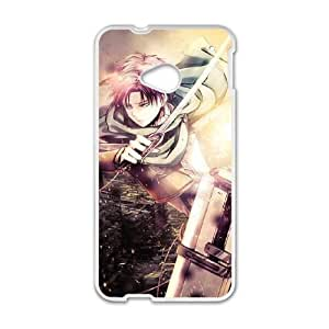 Attack On Titan HTC One M7 Cell Phone Case White yyfabc_004668