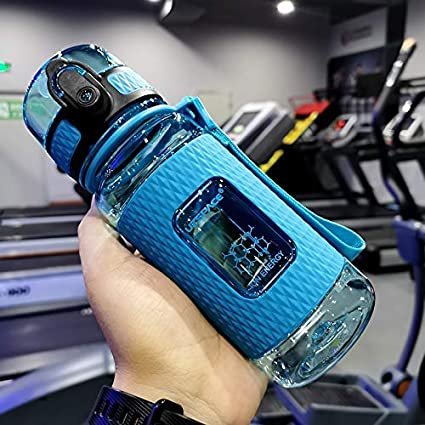 Sport Water Bottles Portable Gym anti-fall Leak-proof large Capacity