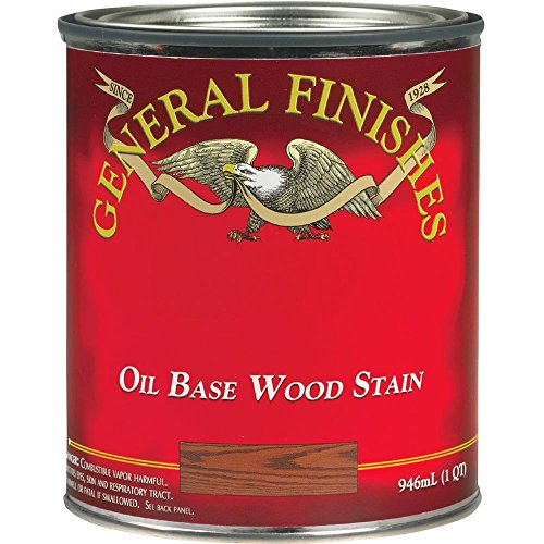General Finishes PEHP Oil Based Penetrating Wood Stain, 1/2 Pint, Pecan, 1 Half ()