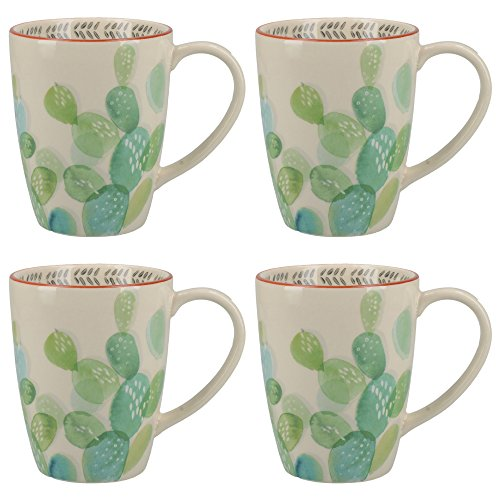 Creative Tops Drift Cactus Mugs (Set of 4)