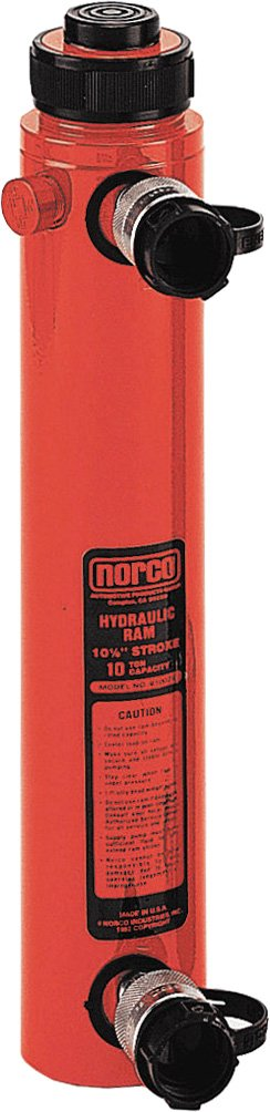 Norco Professional Lifting Equipment 910010 Double Acting 10 Ton Ram with 10 Stroke