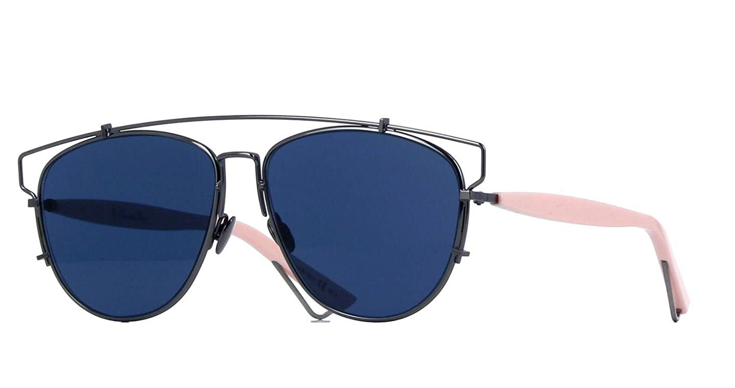 763f02c850f Amazon.com  New Christian Dior TECHNOLOGIC 1UR A9 Blue Pink Blue Sunglasses   Clothing