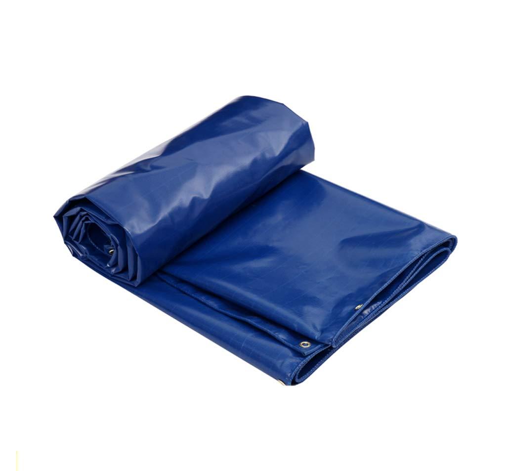 ターポリンヘビーデューティブルー防水高密度織ポリエチレン屋外ピクニックキャンプ/マルチサイズ用 (サイズ さいず : 4Mx3M) 4Mx3M  B07JKSN36Y