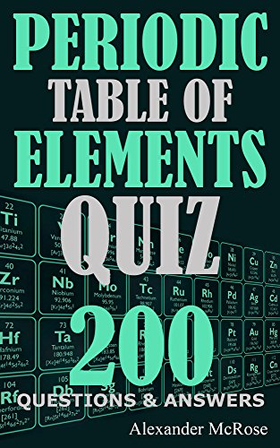 periodic table questions and answers quiz