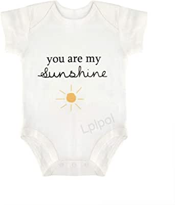 Baby Girl Clothes Baby Boy Clothes M109 You are My Sunshine Popular Baby Onesies\u00ae Shirt for Babies Sunshine Sun Baby Shower Gifts