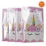 SoFire Plastic Unicorn Party Bags Gift Bags for