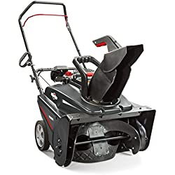 Briggs & Stratton 1696715 Single Stage Snow Thrower with 208cc Engine and Electric Start, 22""