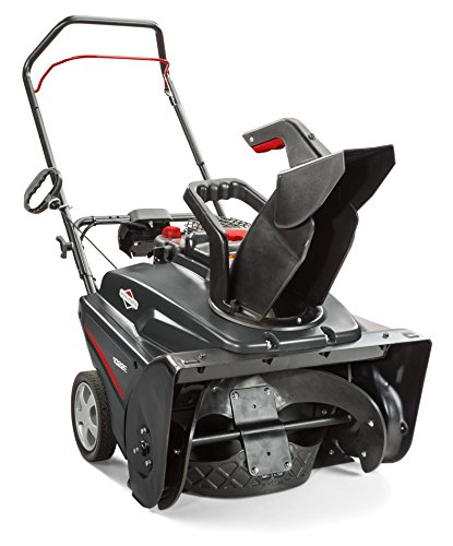Briggs & Stratton 1696715 Single Stage Snow Thrower with 208cc Engine and Electric Start, 22″