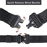Men's Tactical Belt Heavy Duty Webbing Belt