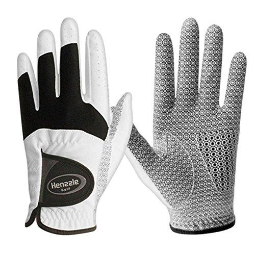 5 PACK KPGA Official Product Mens White Golf Gloves All Size Left Hand