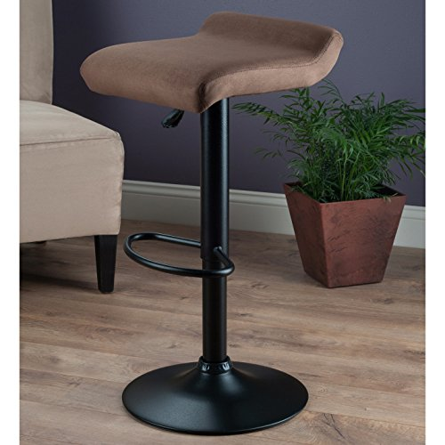 Adjustable Height Bar Stool with - Leaf Stool Banana Bar