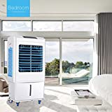 DUOLANG New Air Portable Evaporative Air Cooler with Fan and Humidifier, Personal Indoor Outdoor Room Cooler,LL35