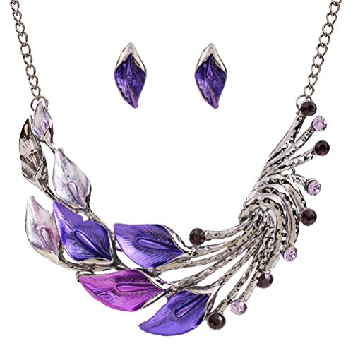Tonsee Women Fresh Wild Fashion Delicate Clavicle Necklace (Multicolor (Necklace and (Necklace Fashion Accessory)