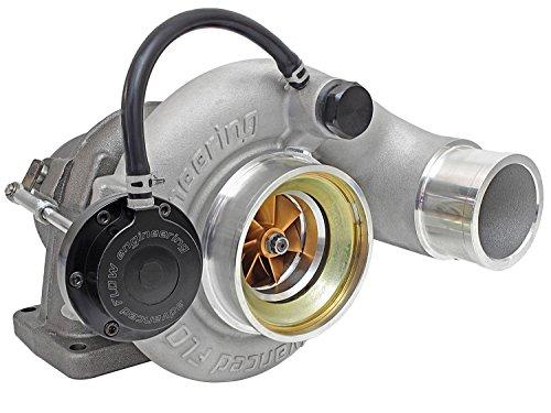 Adj Race (aFe Power 46-60052-1 BladeRunner GT Series Turbocharger; Race Only; Incl. Adj. Wastegate Actuator/Lightweight Alum. Compressor Wheel w/60mm Inducer/89.7mm Exducer; Direct Fit;)