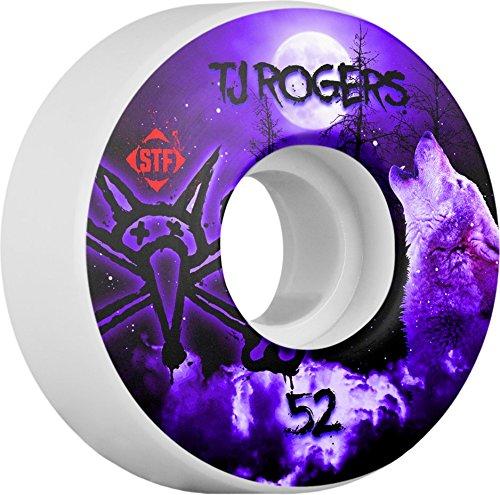 クールスキルおもちゃボーンズ ウィール/STF V3 ROGERS HOWL 52mm