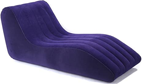 Inflatable Chaise Lounge A Contemporary Air Lounger Couch Sofa. An Air Pump Is Included  sc 1 st  Amazon.com : inflatable chaise lounge - Sectionals, Sofas & Couches