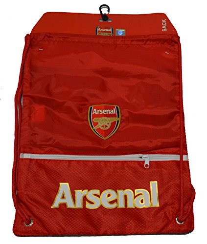 Arsenal FC GYM Sack BAG Drawstring Backpack Cinch Bag Authentic Official NEW 2015