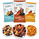 Cheap Youtopia Snacks Delicious 130-calorie Snack Packs, High-Protein Low-Sugar Low-calorie Gluten-free GMO-free Healthy Snacks, 1oz Snack Packs (Pack of 10), Variety Pack