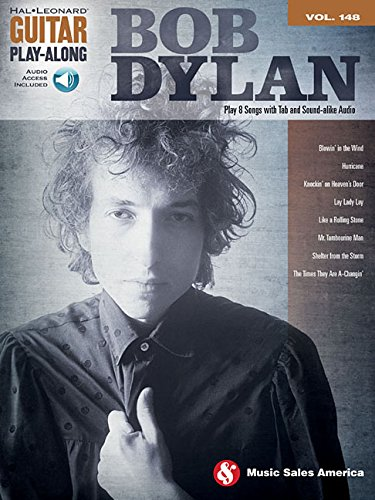 Bob Dylan: Guitar Play-Along Volume 148 Bk/Online Audio (Hal-Leonard Guitar Play-Along)