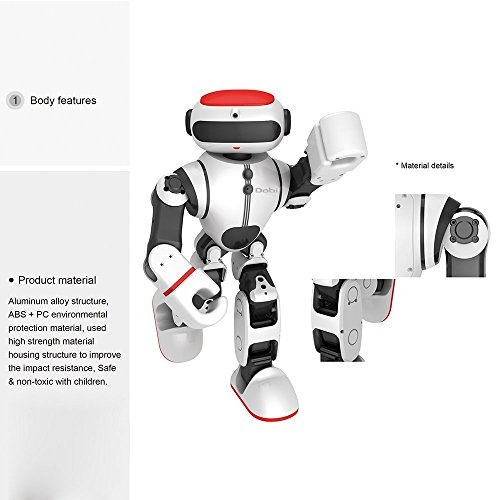 Intelligent Humanoid Robot Dobi Kids Toy Robot Voice/APP Control Toy with Dance/ Yoga/ Storytelling Kid's Suprise Gifts Accompany Friend by OUKU (Image #6)