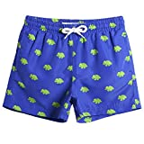 MaaMgic Kids Toddler Little Boys Dinosaurs Swim Trunks Quick Dry with Drawstring